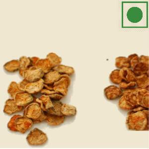 Dried kachri